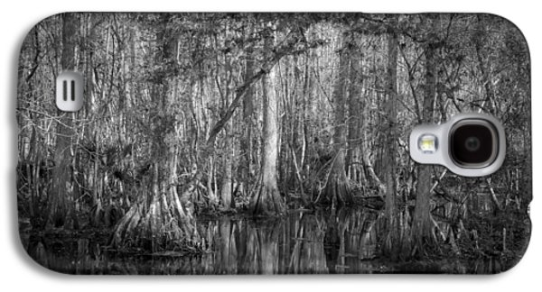 Epiphyte Galaxy S4 Cases - Highland Hammocks State Park Florida BW Galaxy S4 Case by Rich Franco