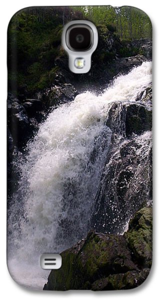 R. Mclellan Photography Galaxy S4 Cases - Highland Waterfall Galaxy S4 Case by R McLellan