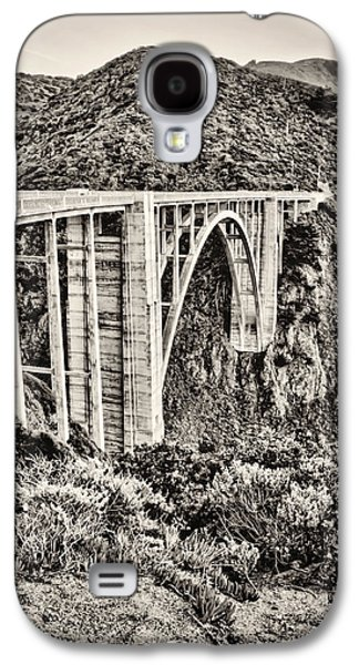Bixby Bridge Galaxy S4 Cases - Highway 1 Galaxy S4 Case by Heather Applegate