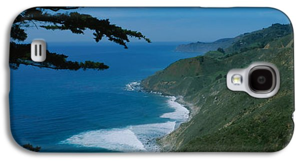 Big Sur California Galaxy S4 Cases - Highway On A Hillside, Route 1, Big Galaxy S4 Case by Panoramic Images