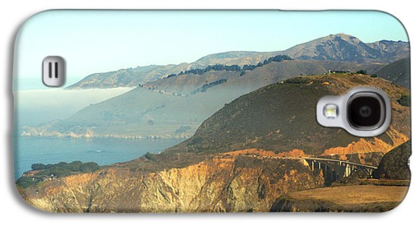 Bixby Bridge Galaxy S4 Cases - Highway One Bixby Bridge Close Galaxy S4 Case by Barbara Snyder