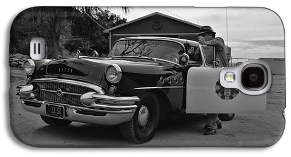 1955 Movies Photographs Galaxy S4 Cases - Highway Patrol 4 Galaxy S4 Case by Tommy Anderson