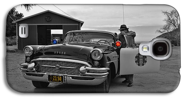 1955 Movies Photographs Galaxy S4 Cases - Highway Patrol 5 Galaxy S4 Case by Tommy Anderson