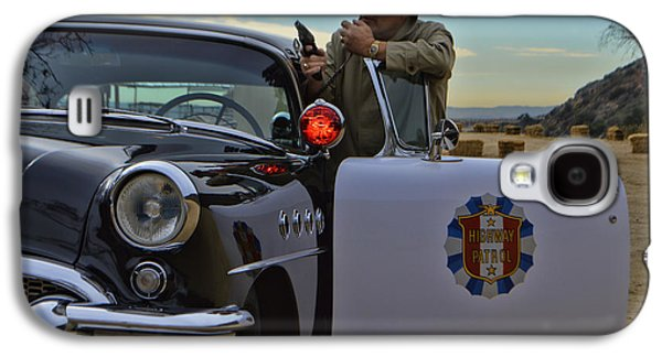 1955 Movies Photographs Galaxy S4 Cases - Highway Patrol 6 Galaxy S4 Case by Tommy Anderson