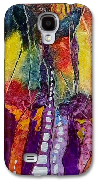 Boardroom Mixed Media Galaxy S4 Cases - Highway to No where Galaxy S4 Case by David Raderstorf