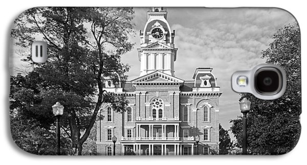 Collegiate Galaxy S4 Cases - Hillsdale College Central Hall Galaxy S4 Case by University Icons