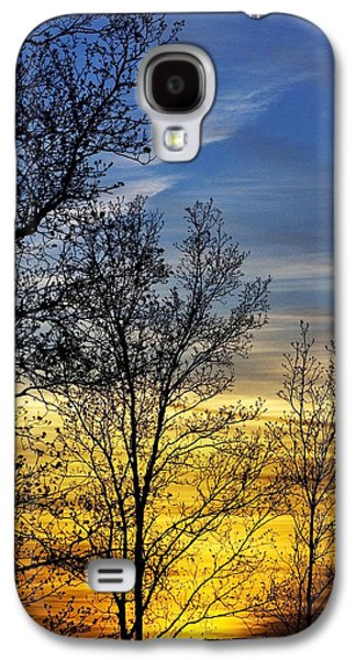 Hilltop Sunset Galaxy S4 Case by Christina Rollo