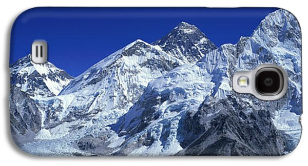 Mountain Photographs Galaxy S4 Cases - Himalaya Mountains, Nepal Galaxy S4 Case by Panoramic Images