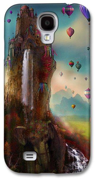 Hot Air Balloon Galaxy S4 Cases - Hinchangtor Galaxy S4 Case by Aimee Stewart