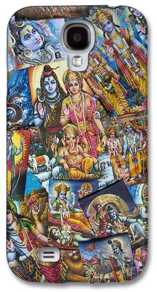 Sacred-wisdom Galaxy S4 Cases - Hindu Deity Posters Galaxy S4 Case by Tim Gainey