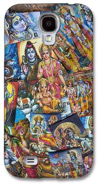 Hindu Deity Posters Galaxy S4 Case by Tim Gainey