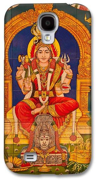 Hindu Goddess Photographs Galaxy S4 Cases - Hindu God Galaxy S4 Case by Niphon Chanthana