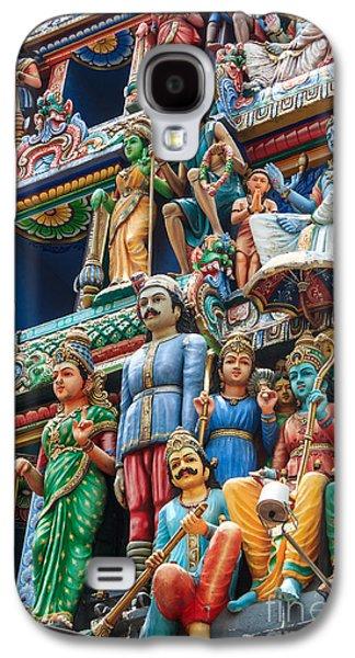 Hindu Goddess Photographs Galaxy S4 Cases - Hindu Goddess Galaxy S4 Case by Niphon Chanthana