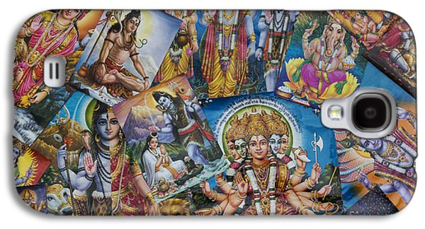 Hindu Goddess Photographs Galaxy S4 Cases - Hindu Posters Galaxy S4 Case by Tim Gainey