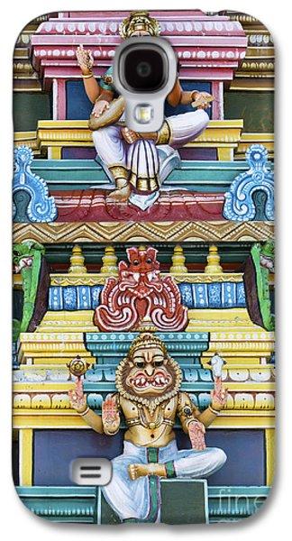 Hindu Temple Deity Statues Galaxy S4 Case by Tim Gainey