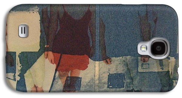 Figures Reliefs Galaxy S4 Cases - Hippie Chic Galaxy S4 Case by Mark Fearn
