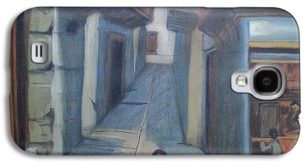 Baghdad Paintings Galaxy S4 Cases - Historic Baghdad Galaxy S4 Case by Ola Albayati
