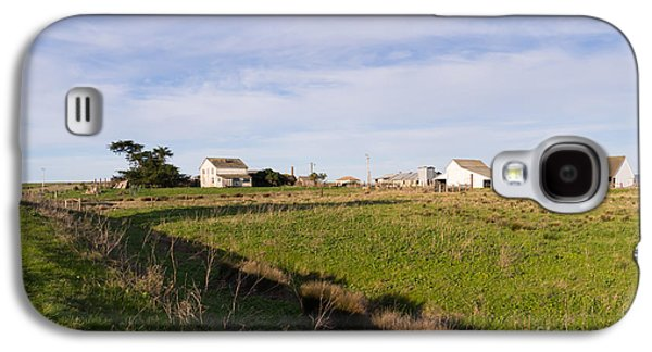 Contemplative Photographs Galaxy S4 Cases - Historic D Ranch In Point Reyes California DSC2348 Galaxy S4 Case by Wingsdomain Art and Photography