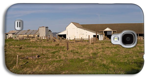 Contemplative Photographs Galaxy S4 Cases - Historic D Ranch In Point Reyes California DSC2354 Galaxy S4 Case by Wingsdomain Art and Photography