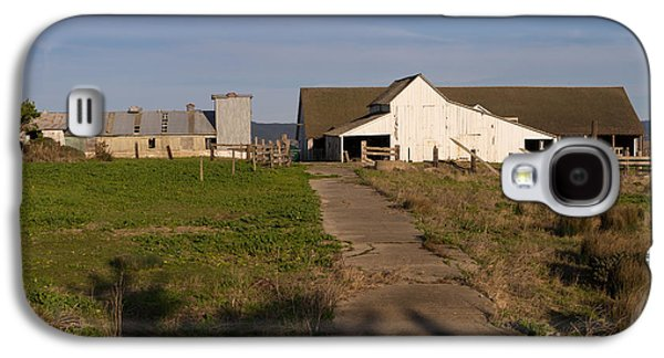 Contemplative Photographs Galaxy S4 Cases - Historic D Ranch In Point Reyes California DSC2369 Galaxy S4 Case by Wingsdomain Art and Photography