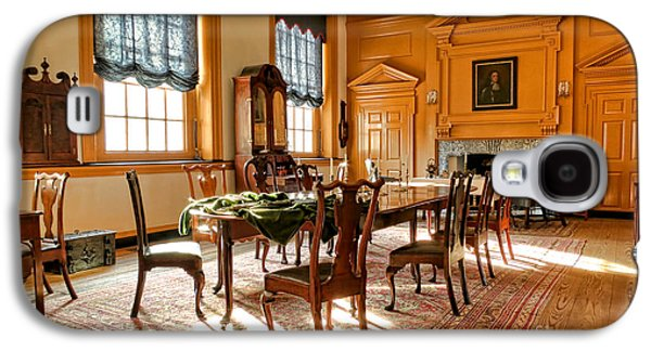 Phila Galaxy S4 Cases - Historic Governor Council Chamber Galaxy S4 Case by Olivier Le Queinec