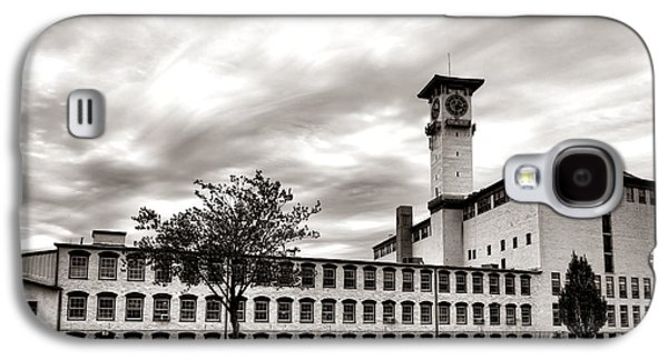Power Plants Galaxy S4 Cases - Historic Grundy Mills Galaxy S4 Case by Olivier Le Queinec