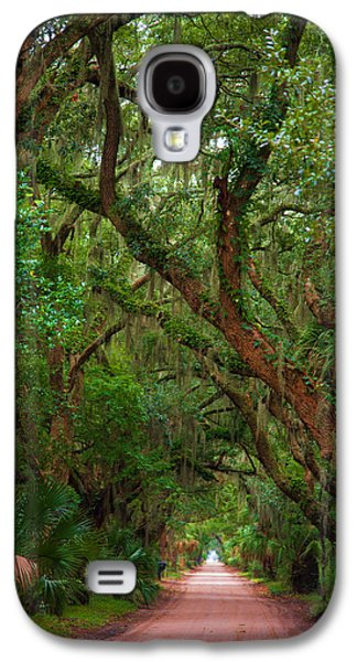 Historic Tree Lined Roadway Galaxy S4 Case by Joel Leslie