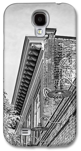 Fort Collins Galaxy S4 Cases - History In Brick BnW Galaxy S4 Case by Keith Ducker