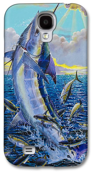 Marlin Galaxy S4 Cases - Hit and Miss Off0084 Galaxy S4 Case by Carey Chen