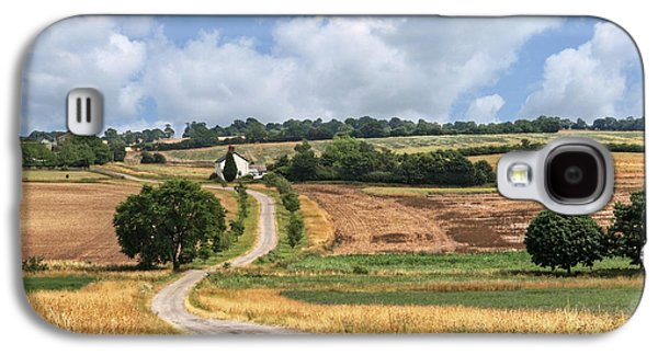 Harvest Time Galaxy S4 Cases - The Long Winding Road  Galaxy S4 Case by Gill Billington