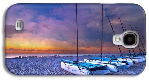 Sanddunes Galaxy S4 Cases - Hobecats Galaxy S4 Case by Debra and Dave Vanderlaan