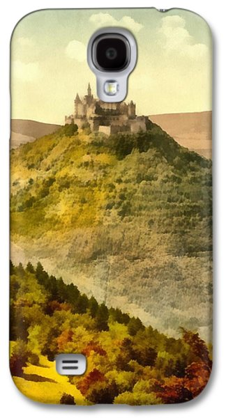 The Hills Mixed Media Galaxy S4 Cases - Hohenzollern Germany Castle Galaxy S4 Case by Dan Sproul