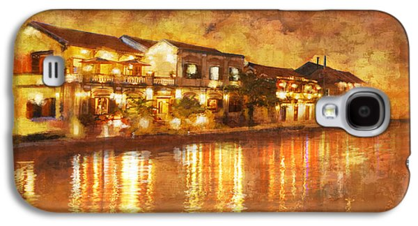 Museum Paintings Galaxy S4 Cases - Hoi an ancient town Galaxy S4 Case by Ctaf