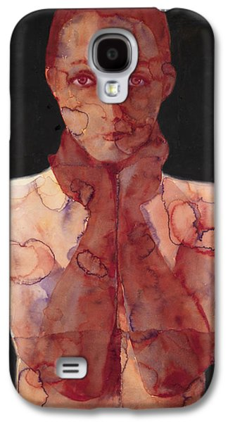 Nudes Paintings Galaxy S4 Cases - Hold In Two Galaxy S4 Case by Graham Dean