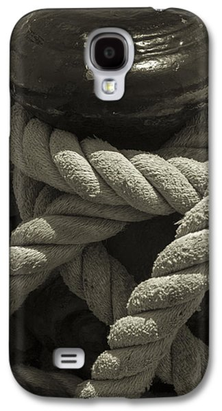 Hold On Black And White Sepia Galaxy S4 Case by Scott Campbell