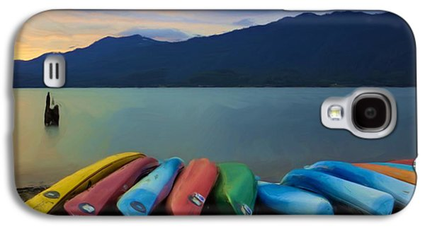 Beach Landscape Galaxy S4 Cases - Holding On To Summer Galaxy S4 Case by Heidi Smith