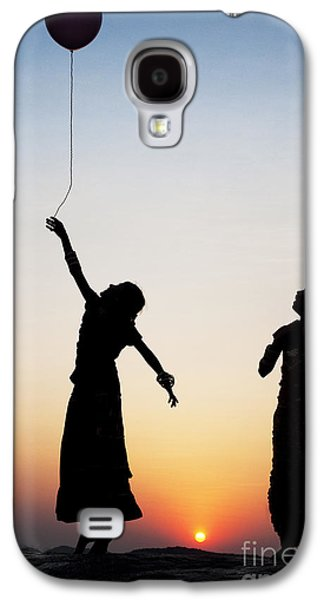 Floating Girl Galaxy S4 Cases - Holding the Dream Galaxy S4 Case by Tim Gainey