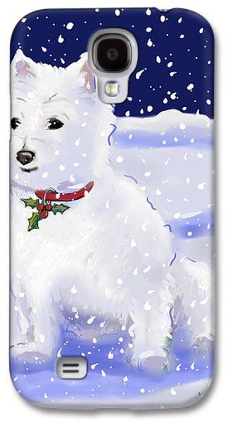 Westie Digital Galaxy S4 Cases - Holly Galaxy S4 Case by Jean Pacheco Ravinski