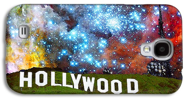 Hollywood 2 - Home Of The Stars By Sharon Cummings Galaxy S4 Case by Sharon Cummings