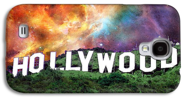 Hollywood - Home Of The Stars By Sharon Cummings Galaxy S4 Case by Sharon Cummings
