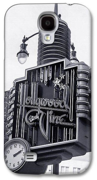 Landmarks Photographs Galaxy S4 Cases - Hollywood Landmarks - Hollywood and Vine Sign Galaxy S4 Case by Art Block Collections