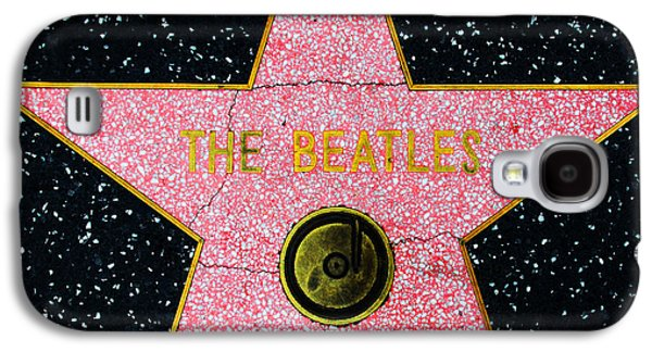 Beatles Galaxy S4 Cases - Hollywood Walk of Fame The Beatles 5D28922 Galaxy S4 Case by Wingsdomain Art and Photography