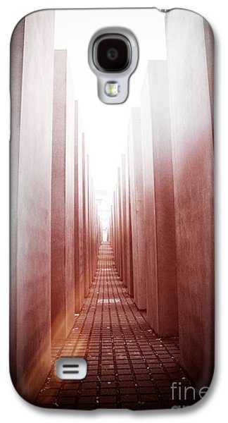 Crosses Photographs Galaxy S4 Cases - Holocaust Memorial Berlin Galaxy S4 Case by Jane Rix
