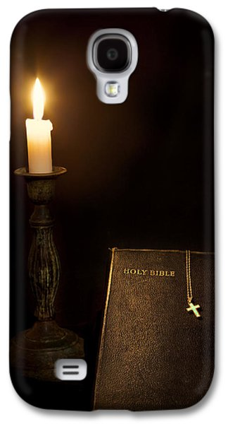Bible Photographs Galaxy S4 Cases - Holy Bible Galaxy S4 Case by Bill  Wakeley