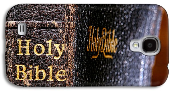 Holy Galaxy S4 Cases - Holy Bible Galaxy S4 Case by Olivier Le Queinec