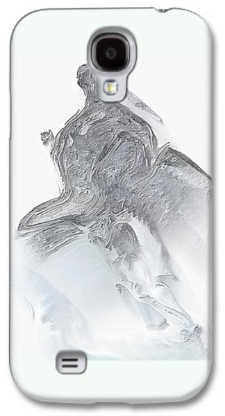 Abstract Digital Galaxy S4 Cases - Marathon man By Quim Abella Galaxy S4 Case by Joaquin Abella