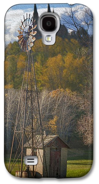 Irish Folklore Galaxy S4 Cases - Holy Hill  Wisconsin Galaxy S4 Case by Jack Zulli