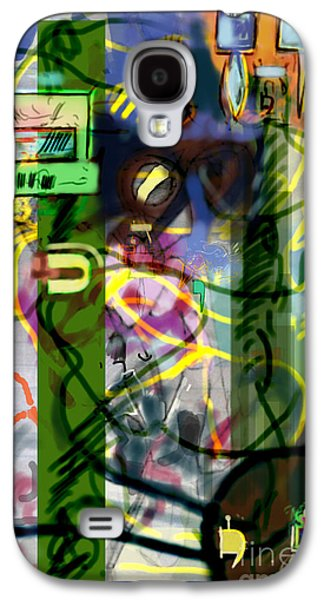 Inner Self Galaxy S4 Cases - Holy Letters 2c Galaxy S4 Case by David Baruch Wolk