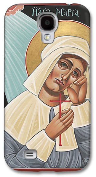 Quaker Paintings Galaxy S4 Cases - Holy Quaker Martyr Mary Dyer Galaxy S4 Case by William Hart McNichols