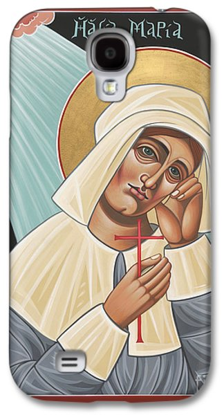 Quaker Paintings Galaxy S4 Cases - Holy Quaker Martyr Mary Dyer 157 Galaxy S4 Case by William Hart McNichols